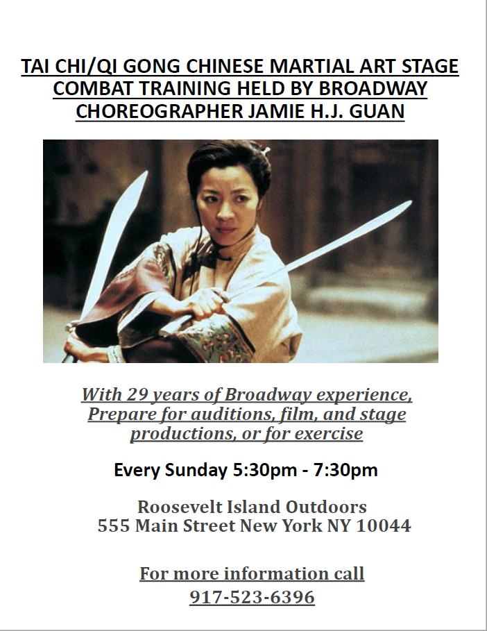 tai chi combat training